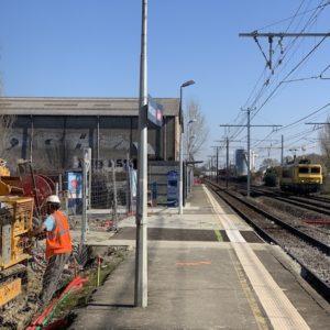 FORAGE RABATTEMENT DE NAPPE GARE SNCF